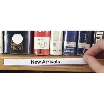 shelf label holders inserts open edge shelf label holders. Black Bedroom Furniture Sets. Home Design Ideas