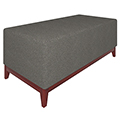 Urban Lounge Seating - Bench, Fabric