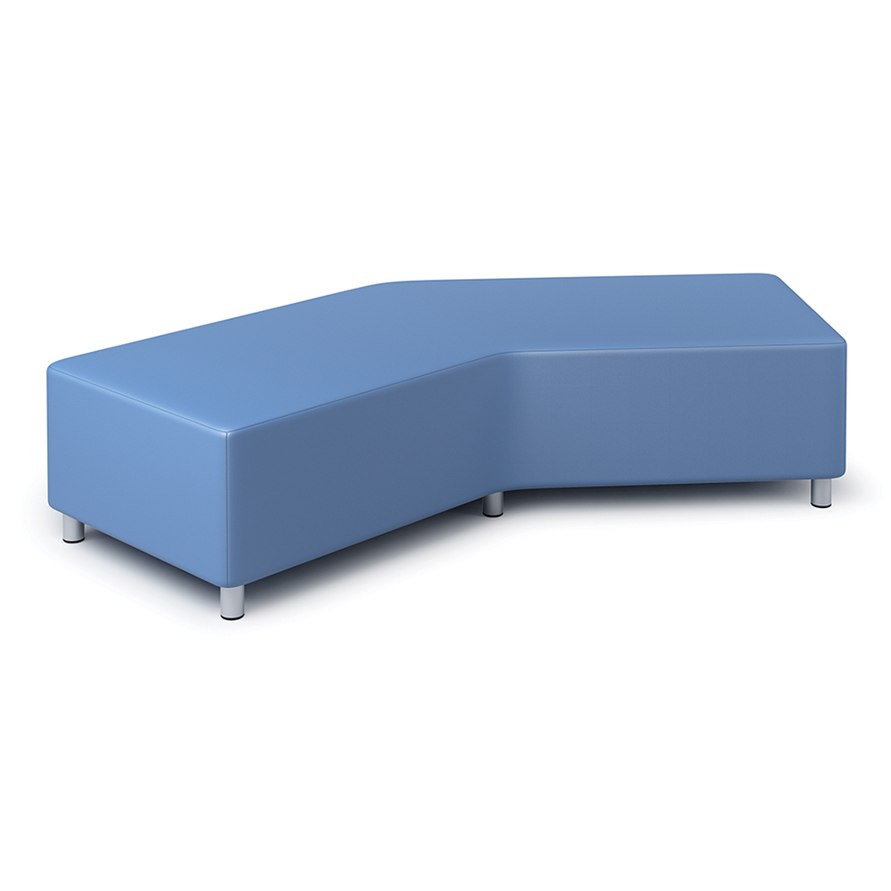 Russwood® Exchange Lounge Seating - Backless Sofa, Vinyl