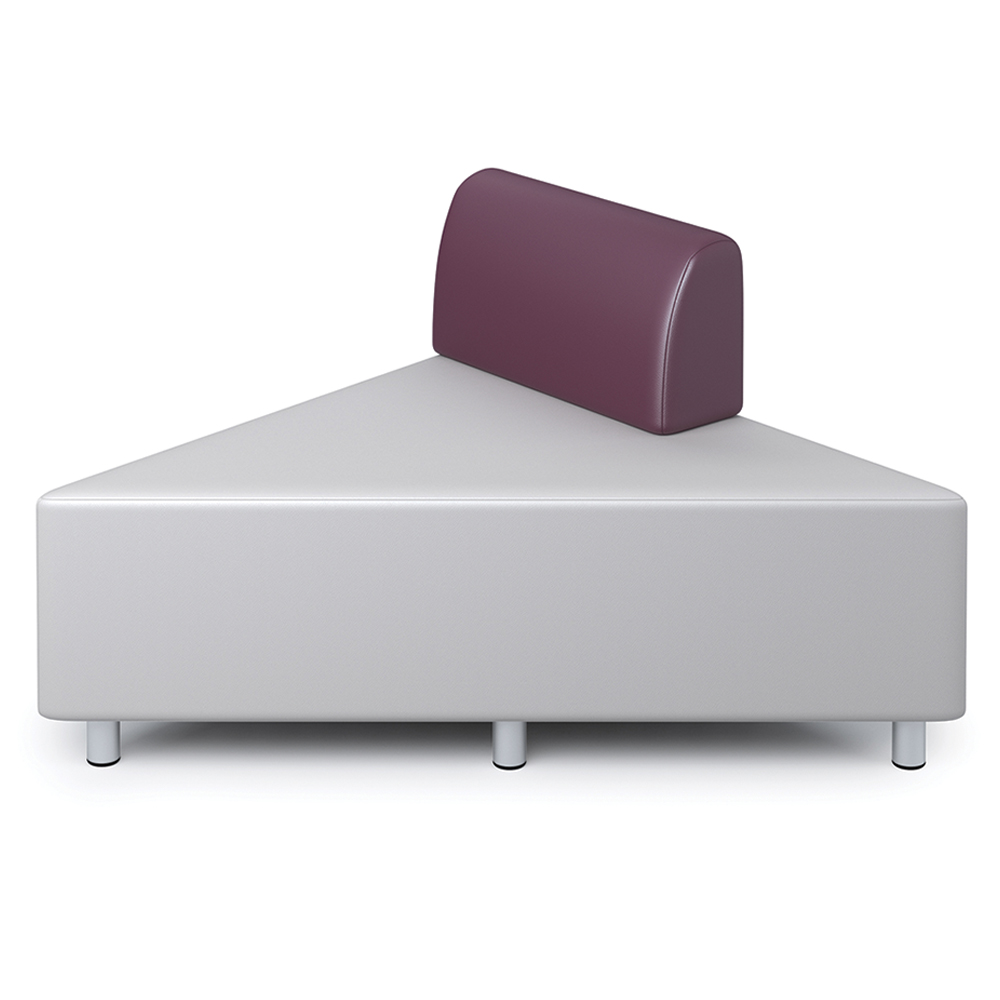 Russwood® Exchange Lounge Seating - Left Back Triangle, Vinyl