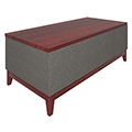 Urban Lounge Seating - Coffee Table with Vinyl Sides