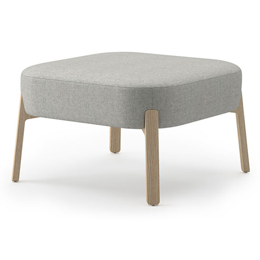 """JSI Indie Lounge Seating - Fabric 16-1/2""""H x 27"""" Square Ottoman"""