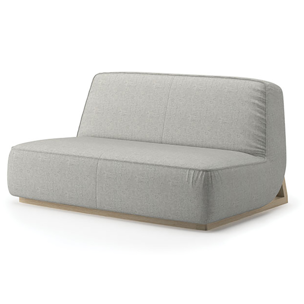 JSI Indie Lounge Seating - Low Lounge Loveseat, Fabric