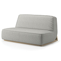 JSI Indie Lounge Seating - Low Lounge Lovesaet