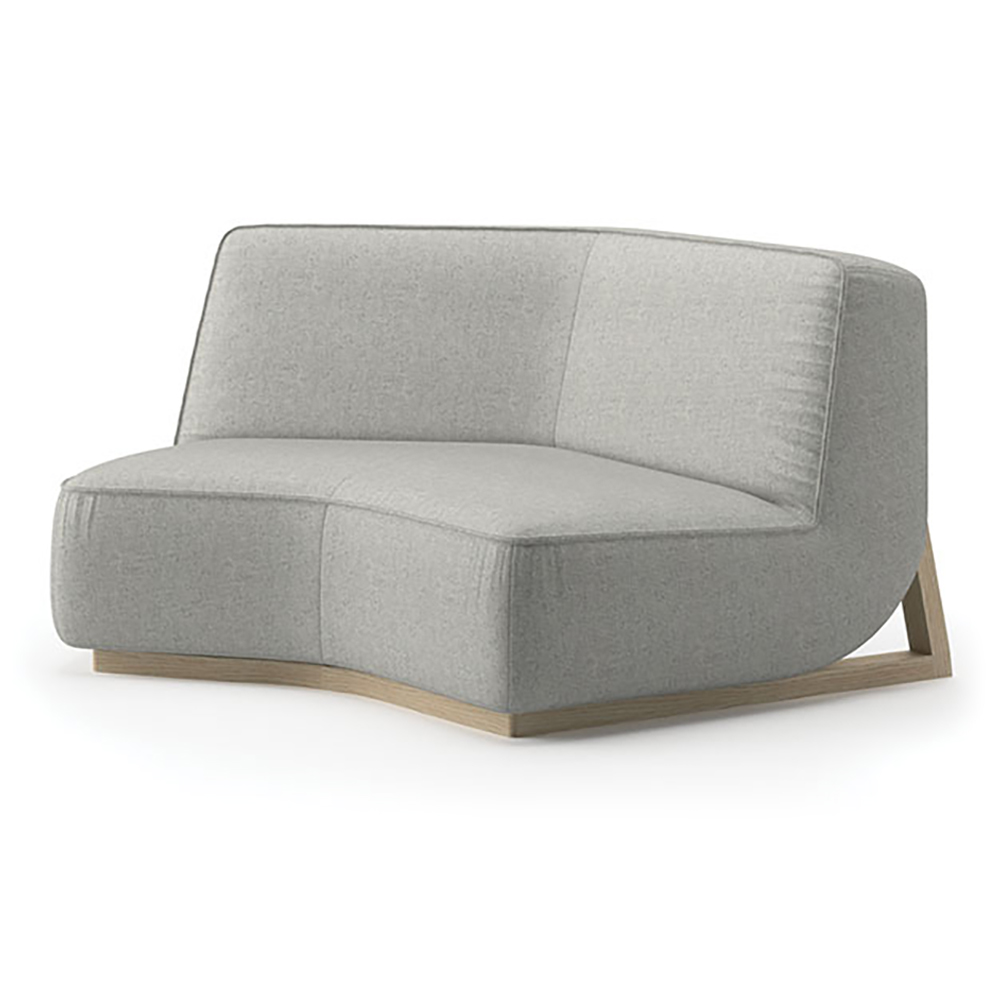 JSI Indie Lounge Seating - Fabric Low Lounge Elbow