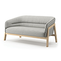 JSI Indie Lounge Seating - Loveseat