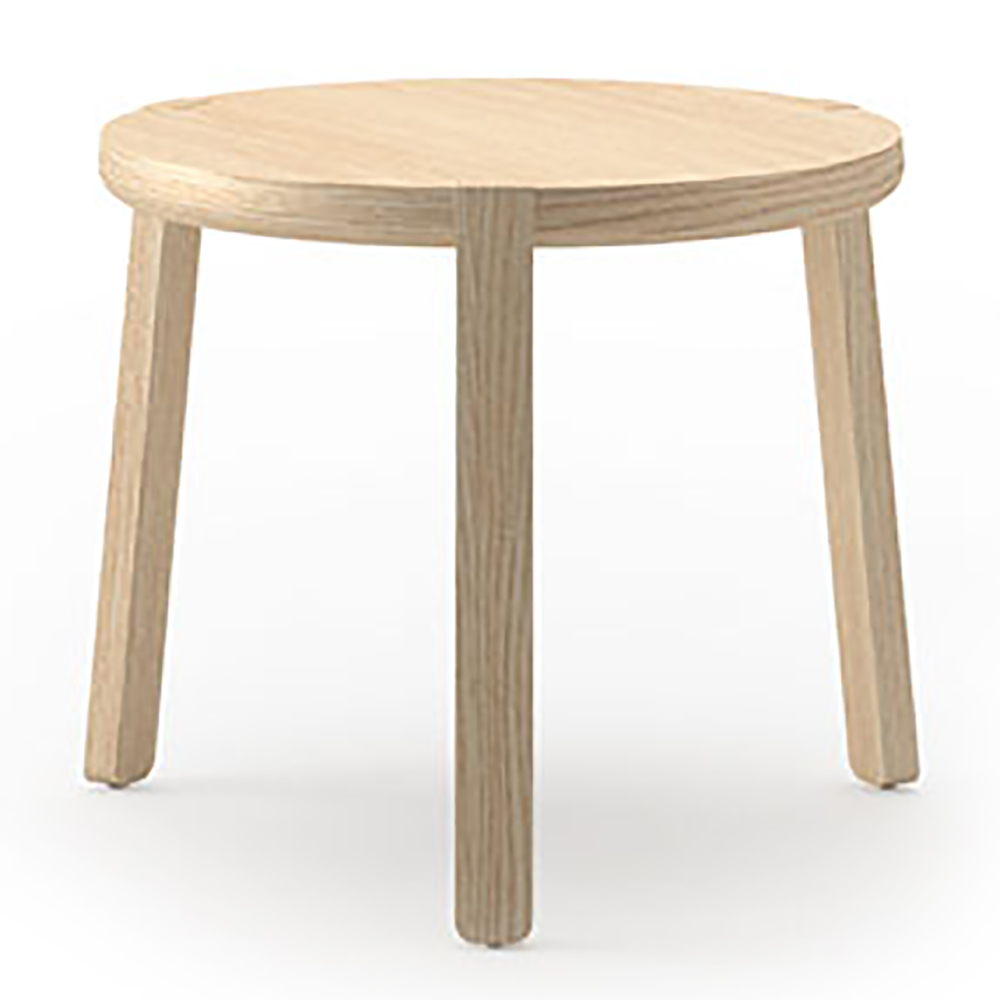"JSI Indie Lounge Seating - 13-3/4""H x 19"" Diameter End Table"