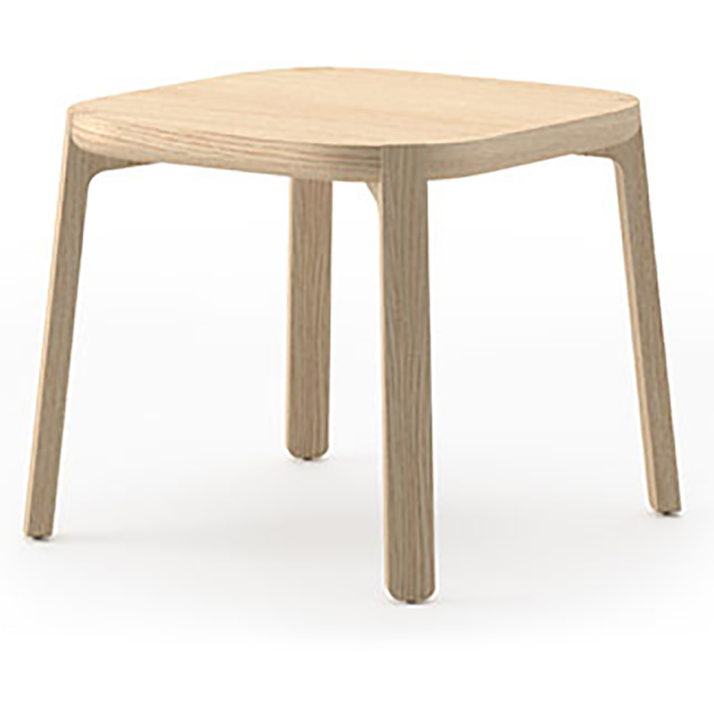 """JSI Indie Lounge Seating - 13-3/4""""H x 19"""" Square End Table"""
