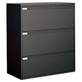 GLOBAL Lateral File Cabinet - 3-drawer, 40-1/2