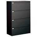 GLOBAL Lateral File Cabinet - 4-drawer, 54