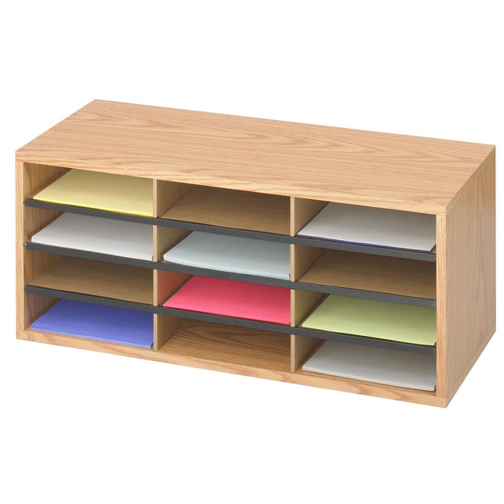 SAFCO® Literature Sorter - 12 Compartment