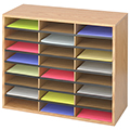 SAFCO® Literature Sorter - 24 Compartment