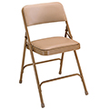 National Public Seating Steel Folding Chair - 1-1/4