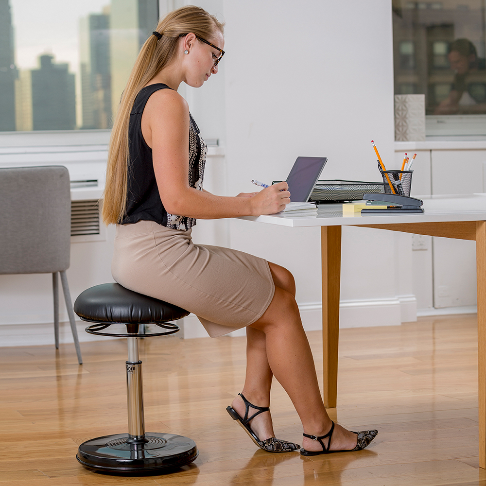 """Kore™ Office Plus Everyday Active Chair - 18-1/2""""H - 26-3/4""""H"""
