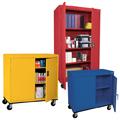 Sandusky Lee® Mobile Locking Storage Cabinets