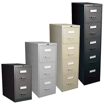 Genial GLOBAL Vertical File Cabinets