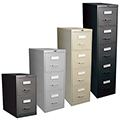 GLOBAL Vertical File Cabinets