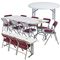 National Public Seating Lightweight Folding Tables