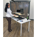 LUXOR|H.WILSON Level Up 32 Standing Desk Converter - Pro