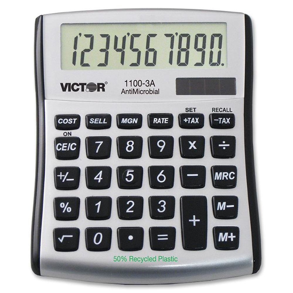VICTOR® 1100-3A Mini Desktop Calculator