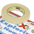 Scotch® 232 High Performance Masking Tape - 1/2W x 60 yds.
