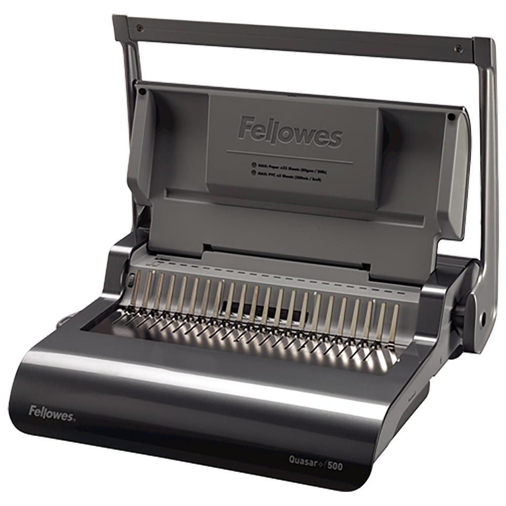 Fellowes® Quasar+™ 500 Manual Binding Machine