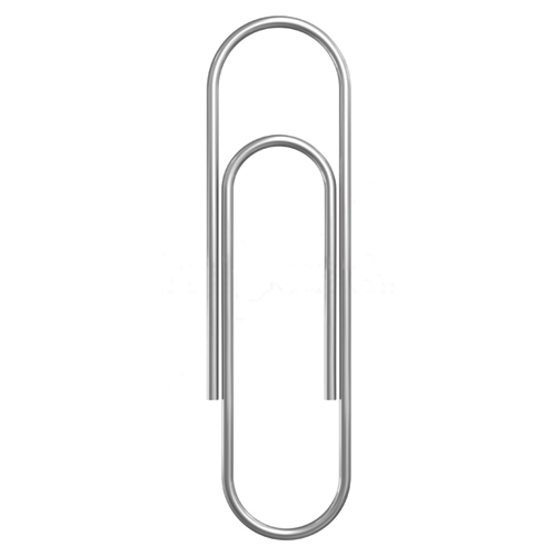 Paper Clips - #1 Standard Smooth - 1000/Box