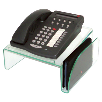 Workspace Organizers Glasstique Phone Stand