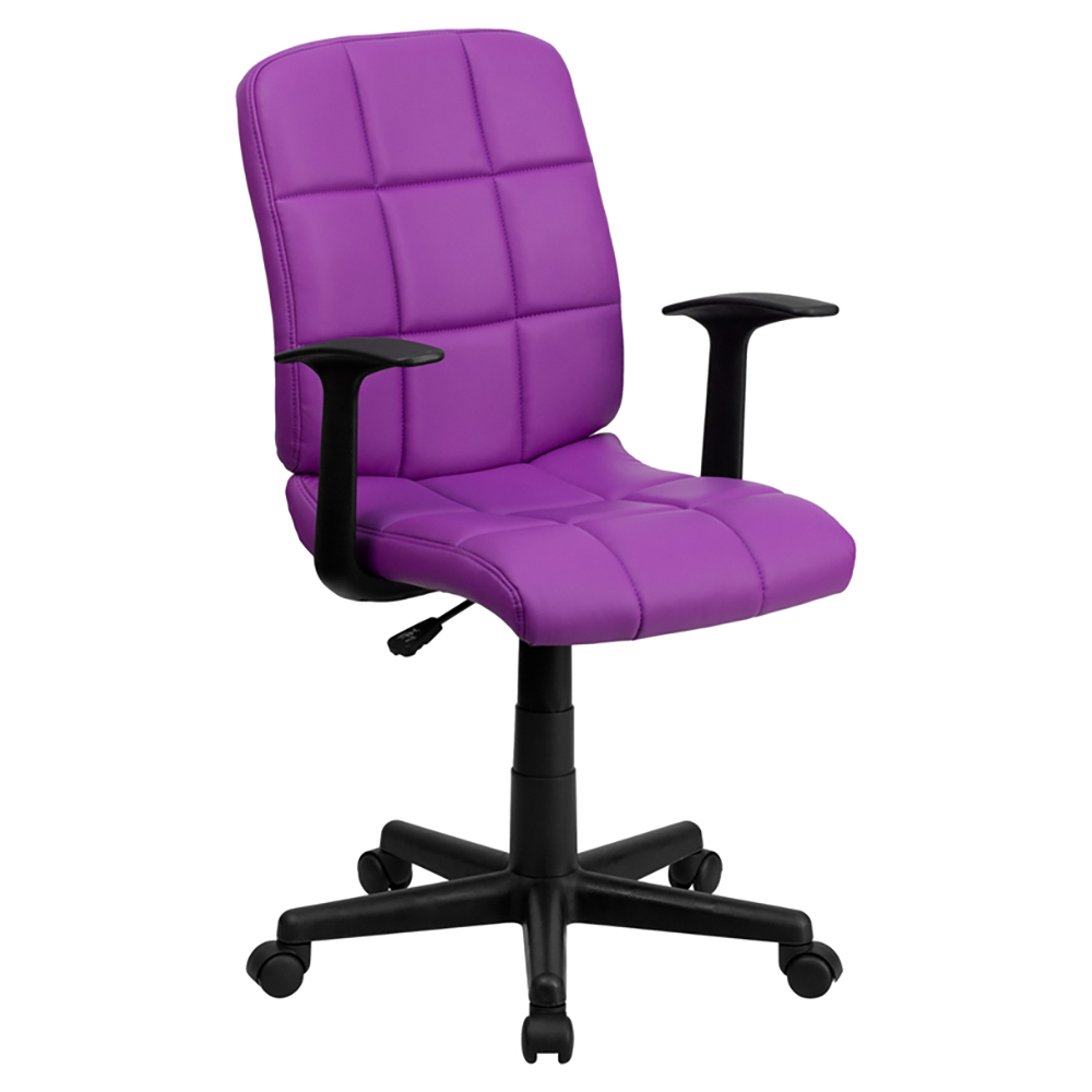 Mid-Back Quilted Task Office Chair