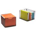 SAFCO® Onyx™ Mesh Cube Bins, 2/Pkg