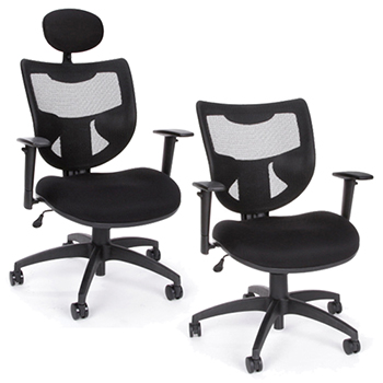 ofm Parker Ridge Executive Mesh Chairs