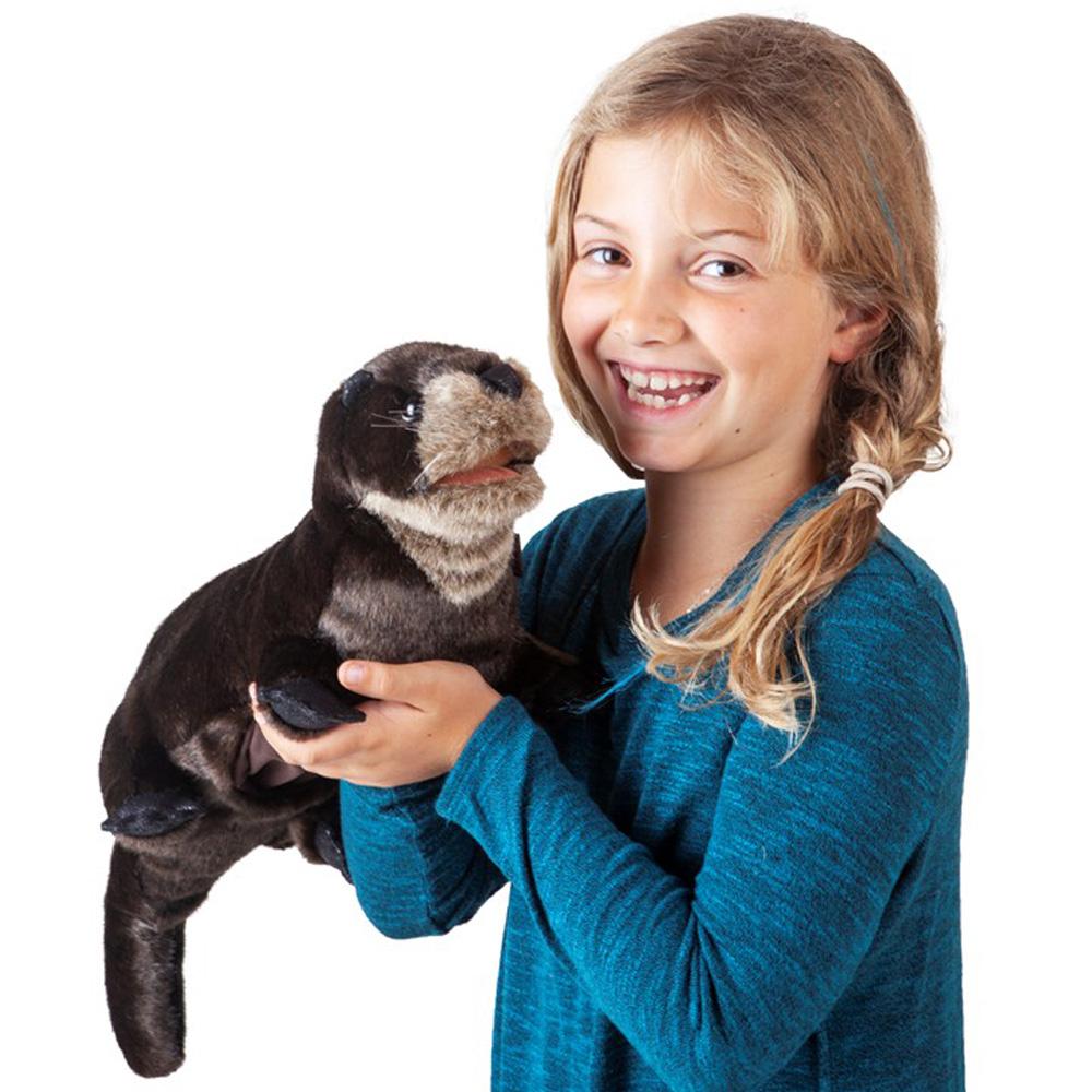 "River Otter Hand Puppet - 20"" L"