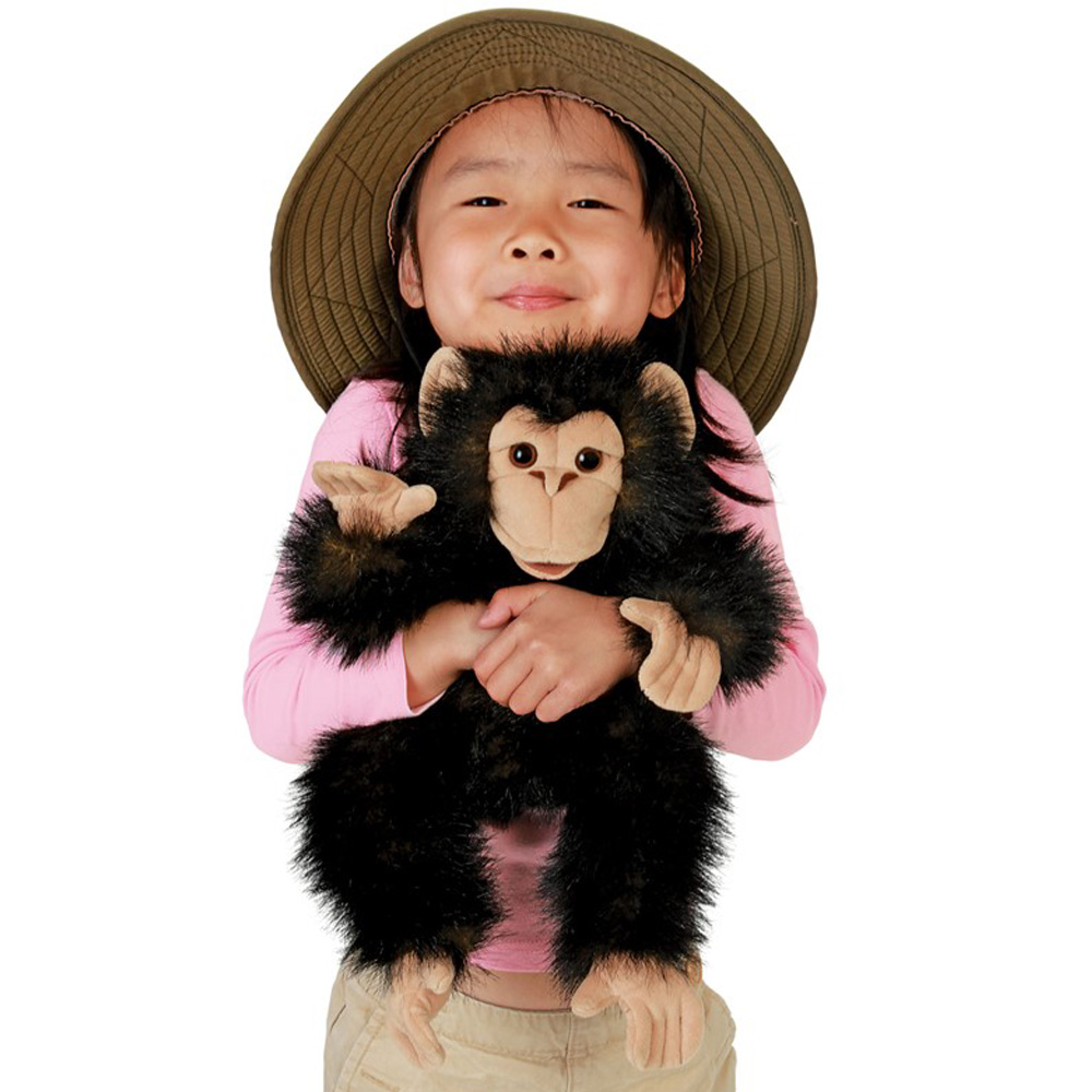 Folkmanis® Chimpanzee Hand Puppet