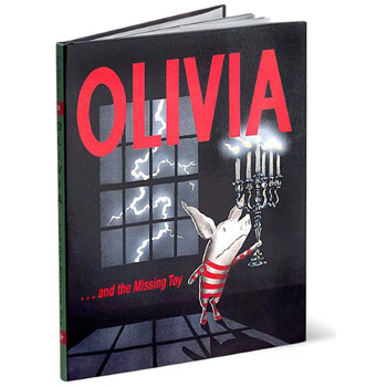 olivia and the missing toy book