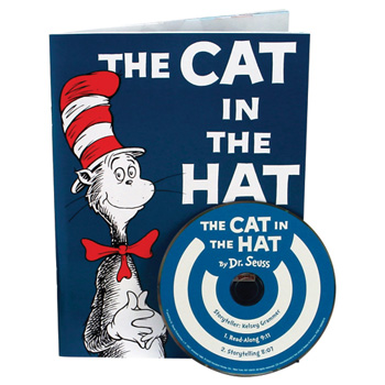 the cat in the hat book cd