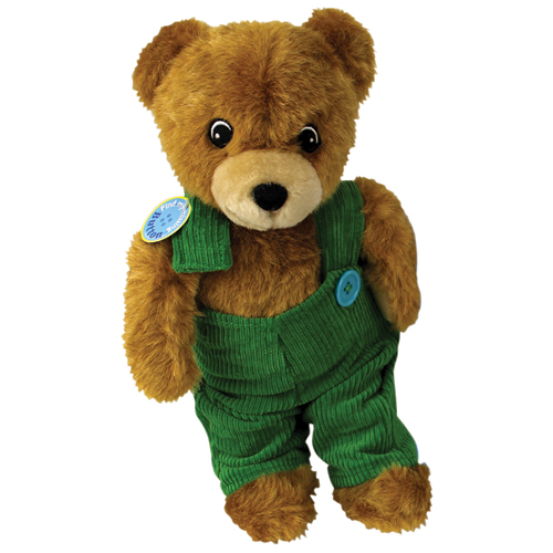 "Corduroy Bear Plush - 13"" H"