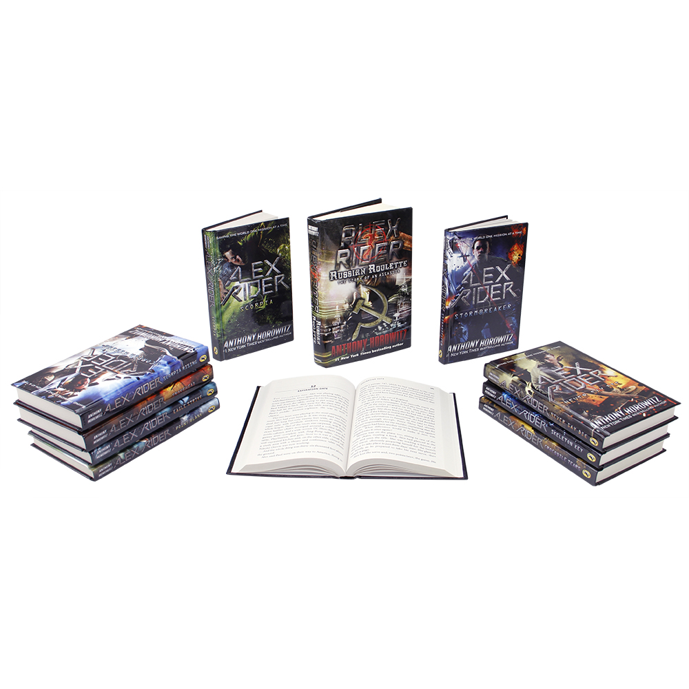 Alex Rider Novels 11 Book Set