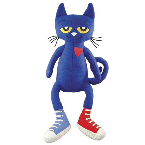 "Pete the Cat Doll - 14-1/2"" H"
