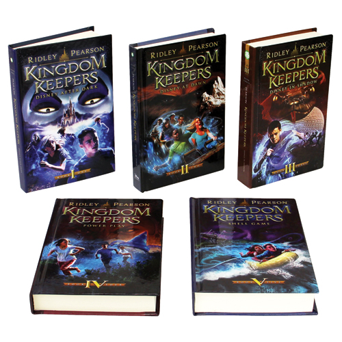 The Kingdom Keepers 7 Book Set