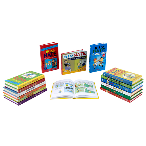 Big Nate Graphic Novel 18 Book Set
