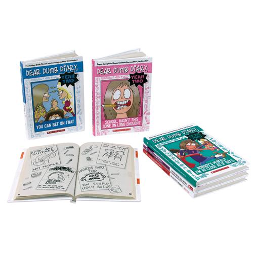 Dear Dumb Diary: Year Two 5 Book Set