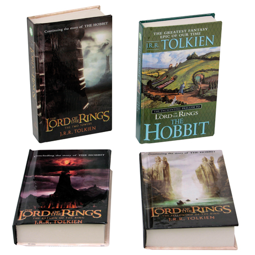 Lord of the Rings 4 Book Set