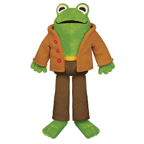 """Frog Doll - 12"""" H"""