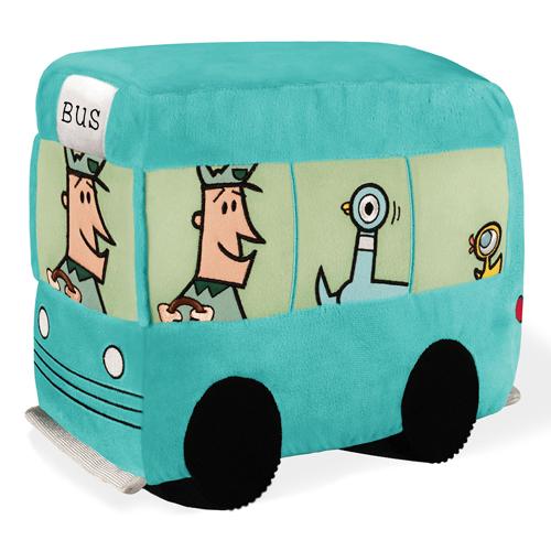 "Pigeon's Bus Plush - 10"" H"