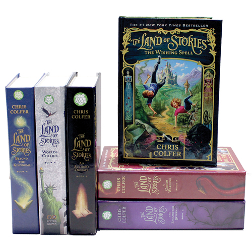 The Land of Stories 6 Book Set
