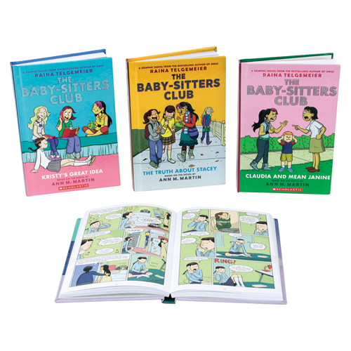 The Baby-Sitters Club Graphic Novel 7 Book Set