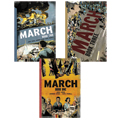 March Trilogy Graphic Novel 3 Book Set