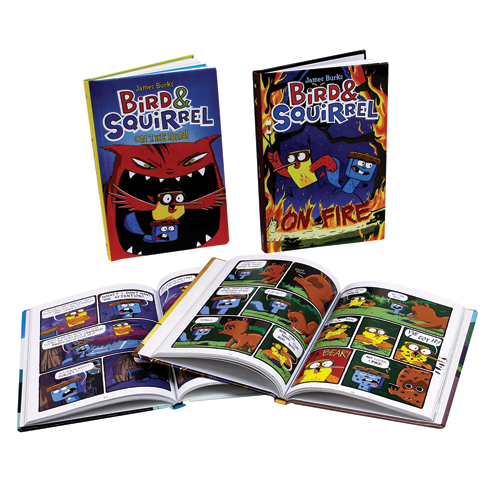 Bird and Squirrel Graphic Novel 6 Book Set