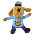 Dog Man Plush Doll - 9-1/2