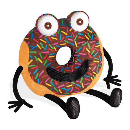 """Arnie the Doughnut Plush - 7"""" H"""